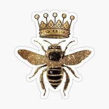 Queen Bee Stickers Redbubble