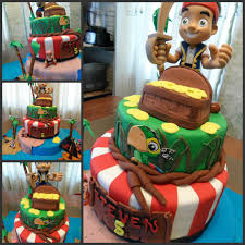 Jake And The Neverland Pirate Cake I Made For A Customer