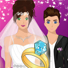 play wedding dress up for free on poki