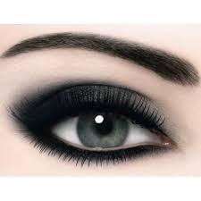 maquillage dark smokey eye 2029586