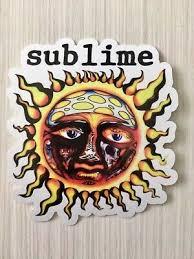 Sublime Sun Logo Laptop Window Car Bumper Vinyl Sticker Decal Ebay