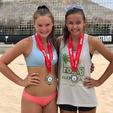 Avery Allen and Adeline Walker took the... - 692 Beach Volleyball | Facebook
