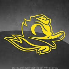 Oregon Ducks Combat Duck Vinyl Sticker Decal 4 And Up More Colors Ebay