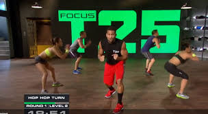 workout with focus t25 gamma