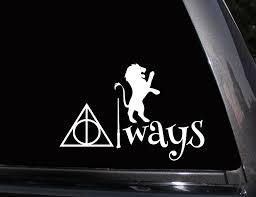Gryffindor Always Harry Potter Vinyl Decal Phone Decal Laptop Decal Wall Decal Car Decal Vinyl Decals Phone Decals Big Girl Toys
