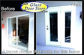 decorating patio garage door windows