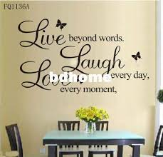 B Vinyl Decal Live Every Moment Laugh Every Day Love Beyond Wordswall Quote Retro Wall Stickers Reusable Wall Decals From Bdhome 5 6 Dhgate Com