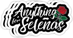 Amazon Com Grayfoxxy Anything For Selena Series Gift Decorations 4x3 Vinyl Stickers Laptop Decal Water Bottle Sticker Set Of 3 Kitchen Dining