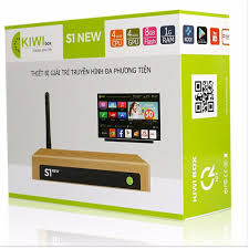 Tivi Box Kiwi S1 New - Tặng Chuột Không Dây Foter - Kiwi Box S1 New - Hàng  Nhập Khẩu