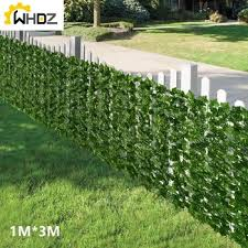 Mega Discount 3cd33 1 3m Artificial Privacy Fence Screen Faux Ivy Leaf Artificial Faux Ivy Hedge Privacy Fence Screen For Outdoor Decor Garden Cicig Co