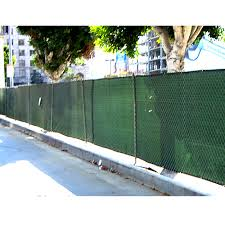 6 X 50 Privacy Fence Screen Tarp Green
