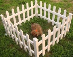 Plastic Dog Puppy Garden Fence