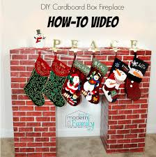 diy box fireplace your modern family
