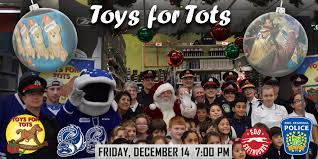 toys for tots game this friday