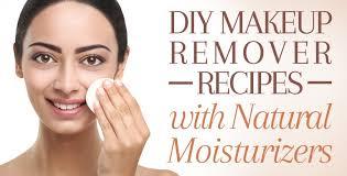 diy makeup remover recipes with natural