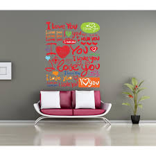 Shop Full Color Quote I Love You Full Color Decal Full Color Sticker Quote I Love You Sticker Decal 48 X 57 On Sale Overstock 15614305