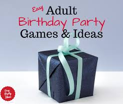 birthday party games and ideas