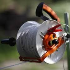 Gallagher Geared Electric Fence Kite Reel Free Handle Holds 1 3 Mile Polywire Ebay