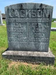 Ada Jackson (1866-1927) - Find A Grave Memorial
