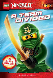 A Team Divided | Ninjago, Chapter books, Ninjago hands of time