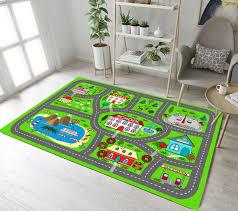 Flair Rugs Childrens Kids Shaped Car Design Floor Rug Fr151 For Sale Online Ebay