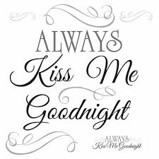 Roommates 10 In X 18 In Always Kiss Me Goodnight 11 Piece Peel And Stick Wall Decals Rmk2084scs The Home Depot