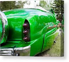 Poison Ivy green custom car Canvas Print / Canvas Art by Mick Flynn