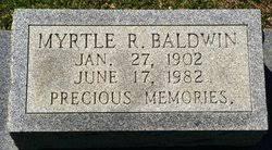 Myrtle Russell Baldwin (1902-1982) - Find A Grave Memorial