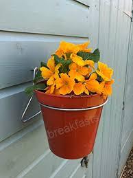 Tuin En Terras S 12 Plant Pot Hanger Ring Holder Bracket Hang 6 Flower Pots On Wall Or Fence Kaarinanfysio Fi