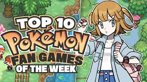 Top 10 BEST Pokemon Fan Games - YouTube
