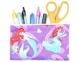 disney princess ariel fabric pencil