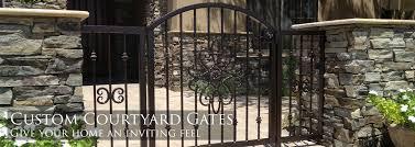 Sunset Gates Wrought Iron Gates Fencing Phoenix Arizona