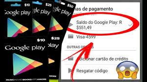 gift card google play gratis gerador 2018