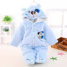 Quần áo mùa đông cho bé sơ sinh, body bông ấm cho bé