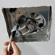 replace vent fan bathroom