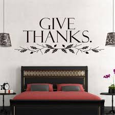 Warm Words Quote Give Thanks Tree Branch Home Family Decor Wall Sticker School Classroom Public Place Decal Adesivo De Parede Warm Home Decor Olivia Decor Decor For Your Home And Office