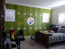 Steelers Room Football Bedroom Football Rooms Boys Football Bedroom