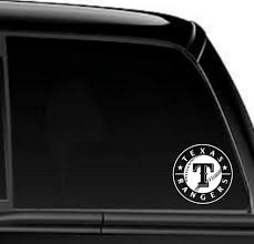 Texas Rangers Decal North 49 Decals