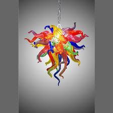 Fancy Small Chandelier Kids Room Multi Color Blown Glass Chandelier Light Long Chain Modern Art Decor Murano Style Glass European Chandelier Grey Pendant Light Edison Bulb Pendant From Benstore0829 492 47 Dhgate Com