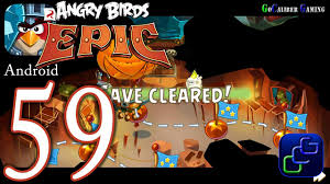 ANGRY BIRDS Epic Android Walkthrough - Part 59 - Cave 3: Misty ...