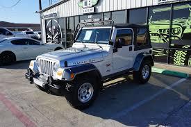 Sold 2003 Jeep Tj Wrangler Rubicon Tomb Raider Edition Stock 376338 Collins Bros Jeep