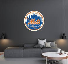 New York Mets Logo Wall Decal Egraphicstore