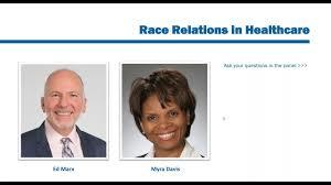 Race Relations in Healthcare IT feat Myra Davis & Ed Marx - YouTube