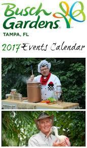 busch gardens ta 2017 calendar of
