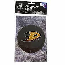 6 Anaheim Ducks Sportz Spaltz Hockey Puck Shattered Glass Window Decals For Sale Online Ebay