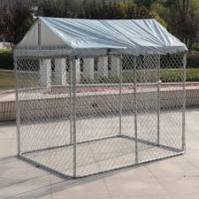 Buy With The Top Dog Shed Galvanized Outdoor Dog House Dog House Large Dog Cage Pet Fence Fence Fence Pet Fence In Cheap Price On M Alibaba Com