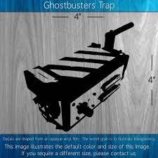Ghostbusters Trap 4 X 4 Decal Deftperception On Artfire