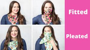 how to make a diy scarf face mask