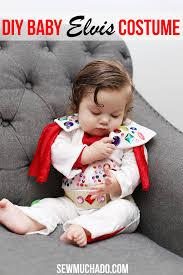 diy baby elvis costume sew much ado