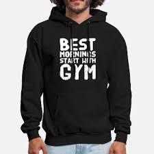 funny gym hoos sweatshirts